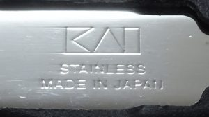 KAI STAINLESS MADE IN JAPAN